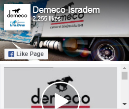 Page Facebook Demeco Isradem