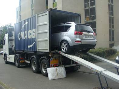 Transporter un véhicule en Israël