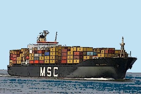 l'import de marchandises en Israël